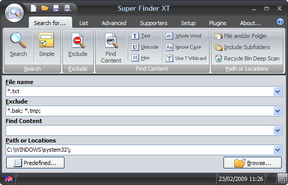 super finder xt supporters edition download